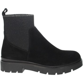 Zapatos Mujer Botas de caña baja Nina Capri IC-65 Negro