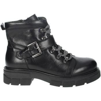 Zapatos Mujer Botas de caña baja Nina Capri IC-57 Negro