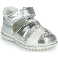 Zapatos Niña Sandalias Primigi GABBY Plata / Blanco