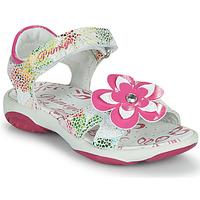 Zapatos Niña Sandalias Primigi SARAH Blanco / Multiple