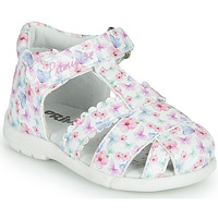 Zapatos Niña Sandalias Primigi NOEMIE Blanco / Multicolor