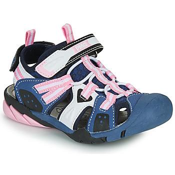 Zapatos Niña Sandalias de deporte Primigi CAMMI Marino / Rosa