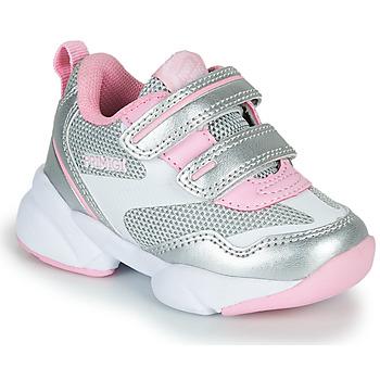 Zapatos Niña Zapatillas bajas Primigi SUZZI Plata / Rosa