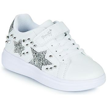 Zapatos Niña Zapatillas bajas Primigi NOLLA Blanco / Plata