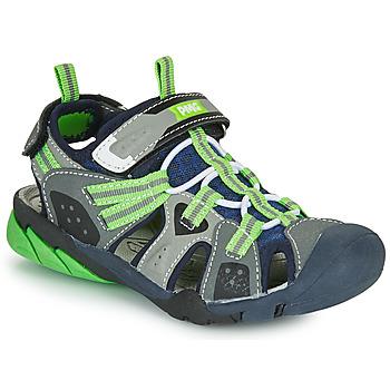Zapatos Niño Sandalias de deporte Primigi ANATI Gris / Verde