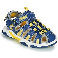 Zapatos Niño Sandalias de deporte Primigi ISMAEL Azul / Amarillo