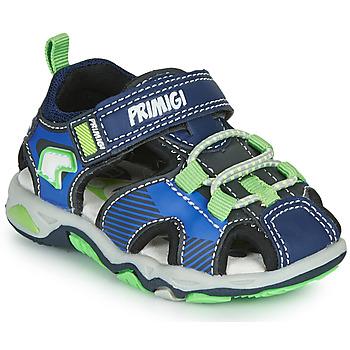 Zapatos Niño Sandalias de deporte Primigi DINNO Azul / Verde