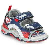 Zapatos Niño Sandalias Primigi FRANG Marino / Rojo