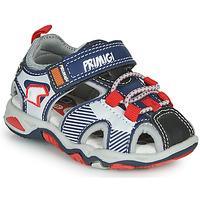 Zapatos Niño Sandalias de deporte Primigi HIMAN Gris / Azul / Rojo