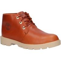 Zapatos Niños Botas de caña baja Timberland A2BJD CLASSIC Marr?n
