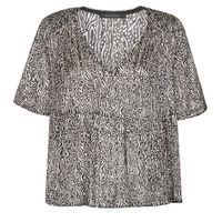 textil Mujer Tops / Blusas Ikks BS11135-02 Gris
