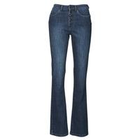 textil Mujer Vaqueros bootcut Ikks BS29135-45 Night / Azul