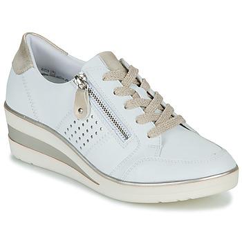 Zapatos Mujer Zapatillas bajas Remonte Dorndorf DORA Blanco / Oro