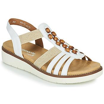 Zapatos Mujer Sandalias Remonte Dorndorf GRISSA Blanco / Gris