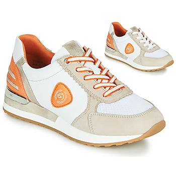 Zapatos Mujer Zapatillas bajas Remonte Dorndorf POLLUX Blanco / Gris / Naranja