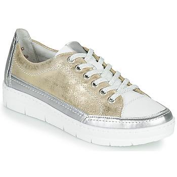 Zapatos Mujer Zapatillas bajas Remonte Dorndorf PHILLA Oro / Plata