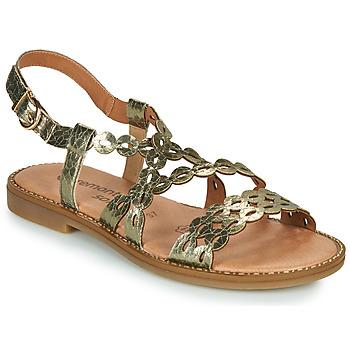 Zapatos Mujer Sandalias Remonte Dorndorf JULLIA Oro