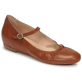 Zapatos Mujer Bailarinas-manoletinas Casual Attitude OLIVIA Camel