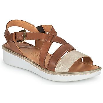Zapatos Mujer Sandalias Casual Attitude ODETTE Camel / Oro