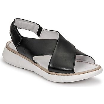 Zapatos Mujer Sandalias Casual Attitude ODILE Negro