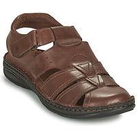 Zapatos Hombre Sandalias Casual Attitude ODOUNE Marrón