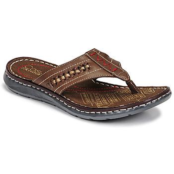 Zapatos Hombre Chanclas Casual Attitude OPOM Marrón