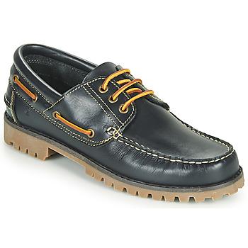 Zapatos Hombre Zapatos náuticos Casual Attitude EVEROA Marino