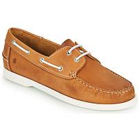 Zapatos Hombre Zapatos náuticos Casual Attitude REVORO Camel