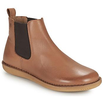 Zapatos Mujer Botas de caña baja Casual Attitude ODILETTE Camel