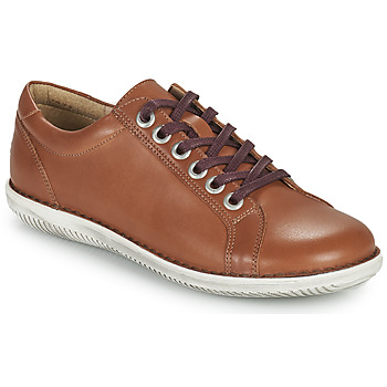 Zapatos Mujer Derbie Casual Attitude OULETTE Camel