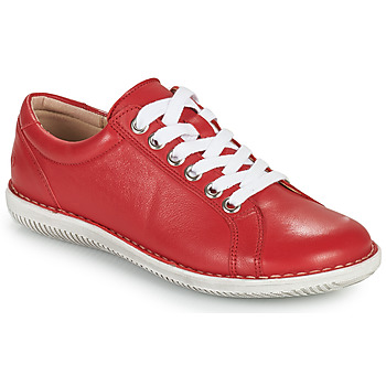 Zapatos Mujer Derbie Casual Attitude OULETTE Rojo