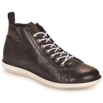 Zapatos Mujer Botas de caña baja Casual Attitude OUETTE Negro