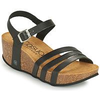 Zapatos Mujer Sandalias Casual Attitude OUDINE Negro
