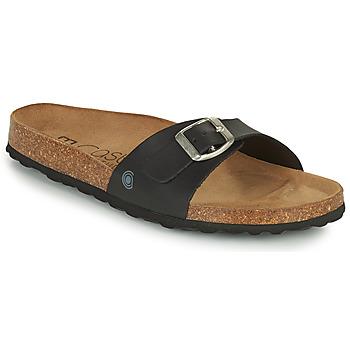 Zapatos Mujer Zuecos (Mules) Casual Attitude OVOA Negro
