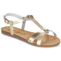 Zapatos Mujer Sandalias Casual Attitude JALIYAXE Oro