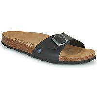 Zapatos Hombre Zuecos (Mules) Casual Attitude OMIU Negro