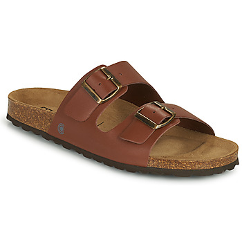 Zapatos Hombre Zuecos (Mules) Casual Attitude OMAO Marrón