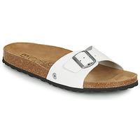 Zapatos Hombre Zuecos (Mules) Casual Attitude OMI Blanco