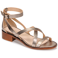 Zapatos Mujer Sandalias Casual Attitude COUTIL Bronce