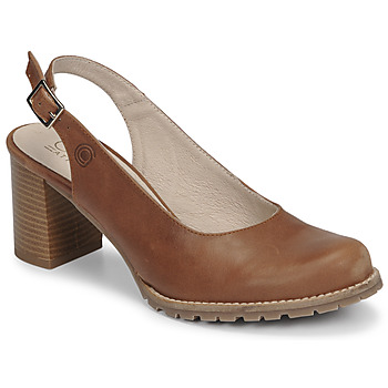 Zapatos Mujer Zapatos de tacón Casual Attitude OLEA Camel