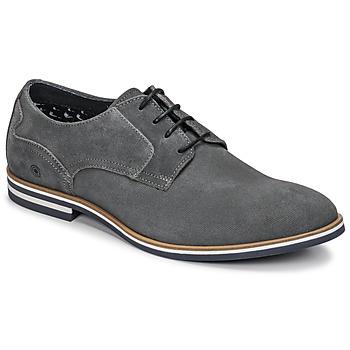Zapatos Hombre Derbie Casual Attitude OLEO Gris