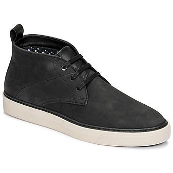 Zapatos Hombre Botas de caña baja Casual Attitude OLEO Negro