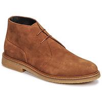 Zapatos Hombre Botas de caña baja Casual Attitude NETOINE Marrón