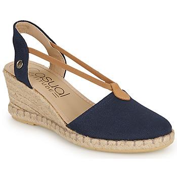 Zapatos Mujer Sandalias Casual Attitude IPOP Marino