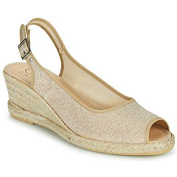 Zapatos Mujer Sandalias Casual Attitude MADELEINE Oro