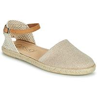 Zapatos Mujer Sandalias Casual Attitude ONINA Oro