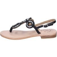 Zapatos Mujer Sandalias Adriana Del Nista BK994 Negro