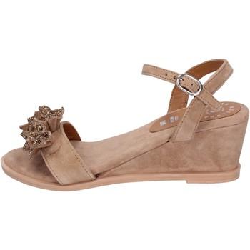 Zapatos Mujer Sandalias Adriana Del Nista BK996 marrón