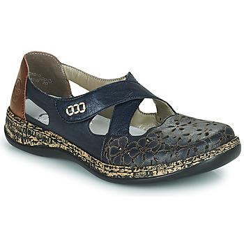 Zapatos Mujer Bailarinas-manoletinas Rieker DUBLIN Azul