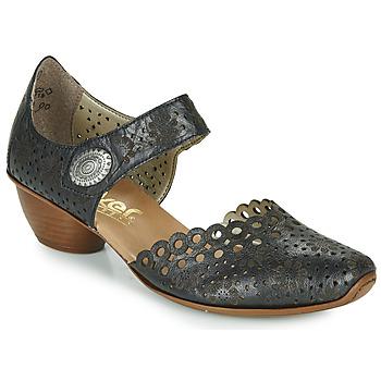 Zapatos Mujer Zapatos de tacón Rieker DOUNIA Negro
